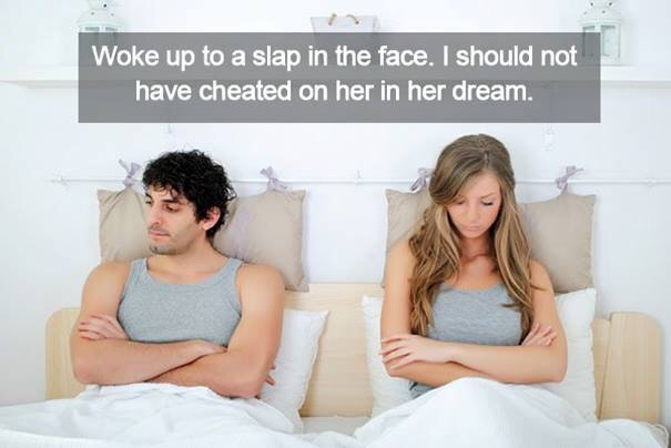having the same dream as your spouse